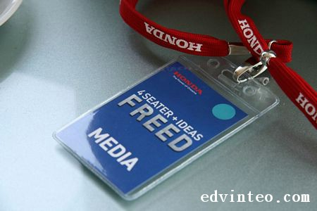Honda Freed Launching Media Pass