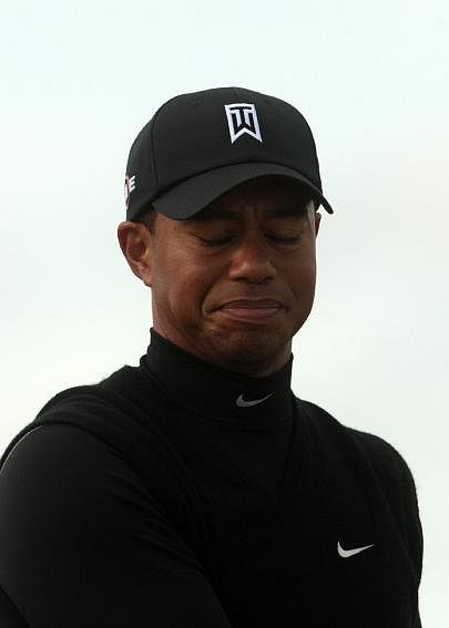 Tiger Woods emotional expression after serial of sex scandals revealed